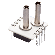 AMS 5105 OEM pressure sensor series with ratiometric voltage output and two separate programmable switching outputs